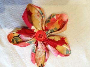 Origami flowers by Sue