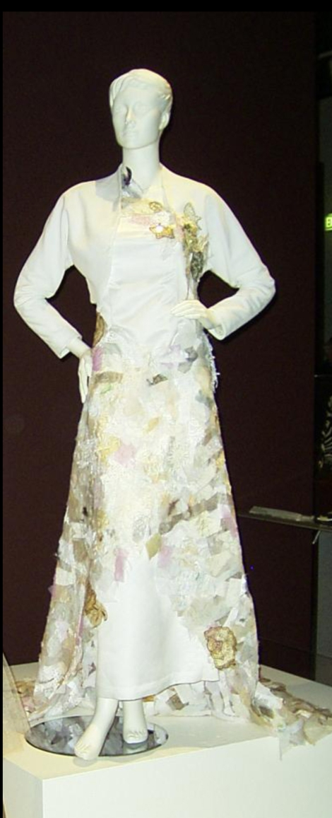Gown and Jacket Front View