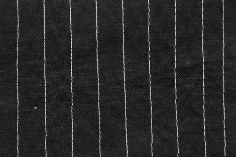 various length straight stitch
